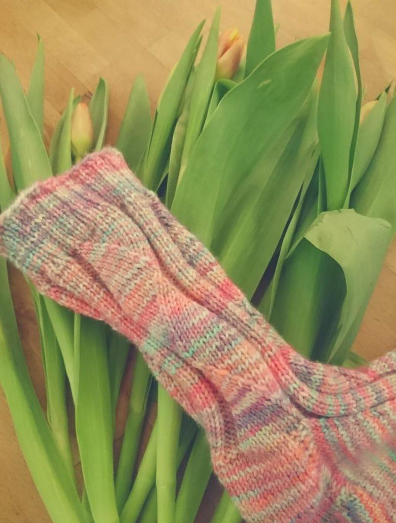 Socken stricken – Muster Gundel