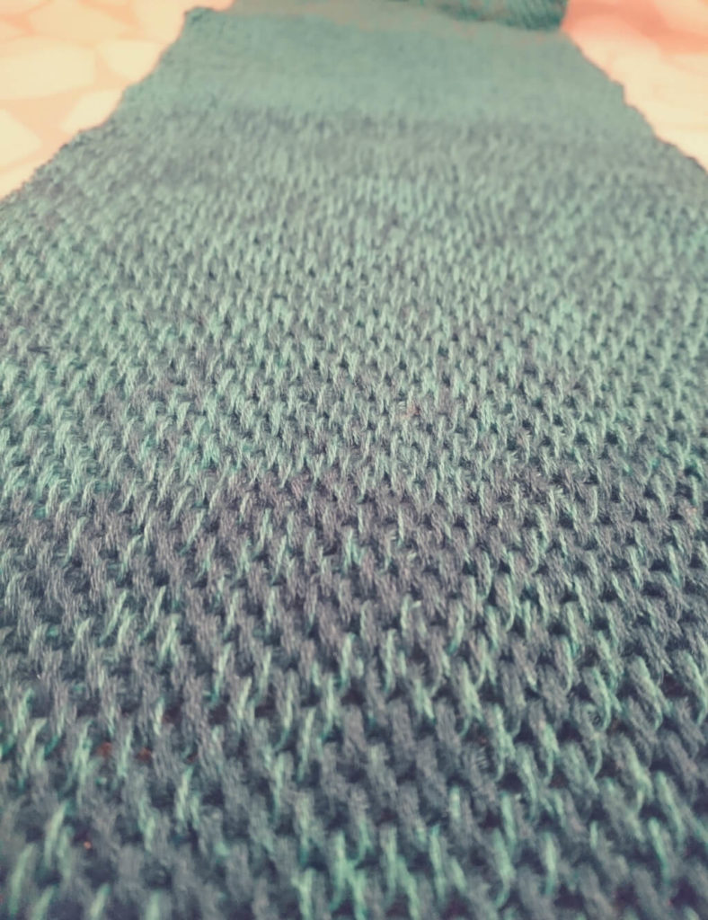 Tunesisch Häkeln ▻ Schal häkeln - knitknitboom.de